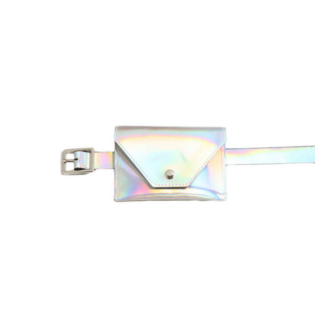 New  Holographic Hip Bag