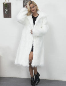 Comfy Long Faux Fur Coat