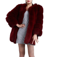 Luxurious Faux Fur Coat
