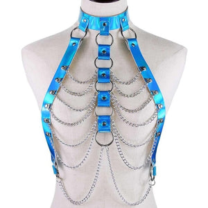 Holographic chain harness
