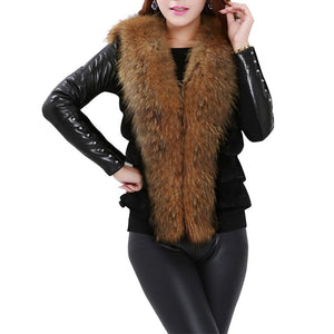 Sleeveless Faux Fur Vest