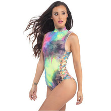 Colorful Print Festival Bodysuit