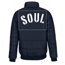 Load image into Gallery viewer, LOST SOUL - BOMBER JACKET - NAVY
