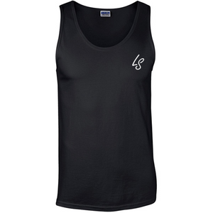 Mens Gym Vest - BLACK