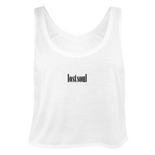 Load image into Gallery viewer, Cropped Vest Top - White