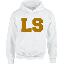 Load image into Gallery viewer, LS 91 Hoodie - White & Gold