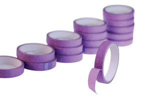 Purple Low Tack Masking Tape - Pack of 5 Rolls