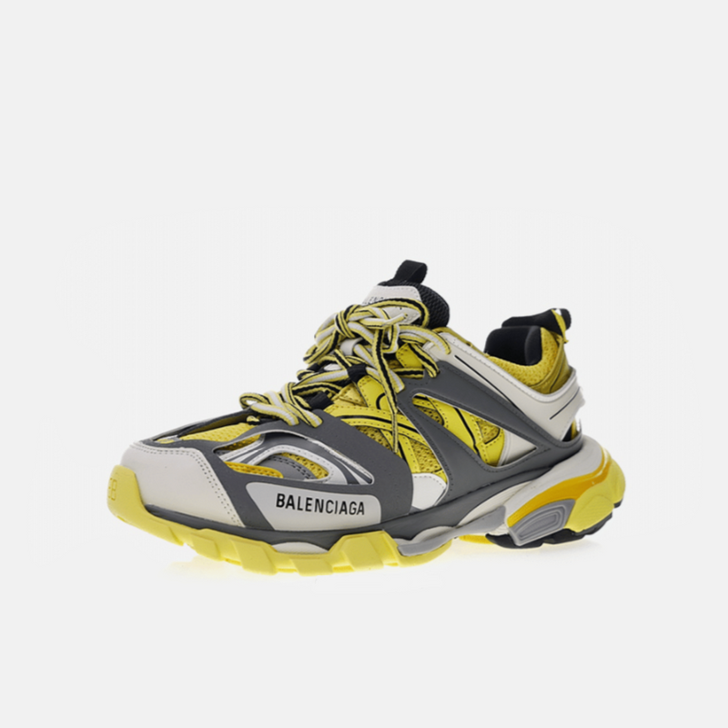 BALENCIAGA TRACK GREY YELLOW