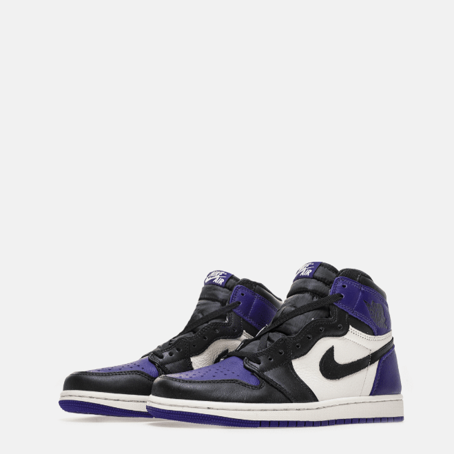 AIR JORDAN 1 COURT PURPLE