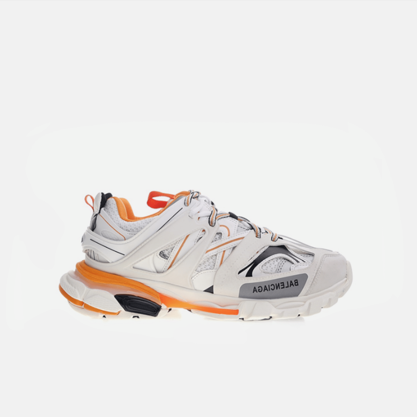 BALENCIAGA TRACK WHITE ORANGE