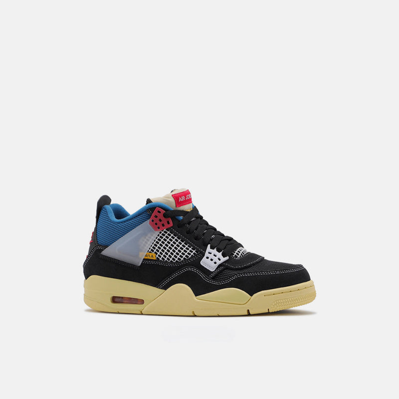 AIR JORDAN 4 OFF x UNION LA BLACK