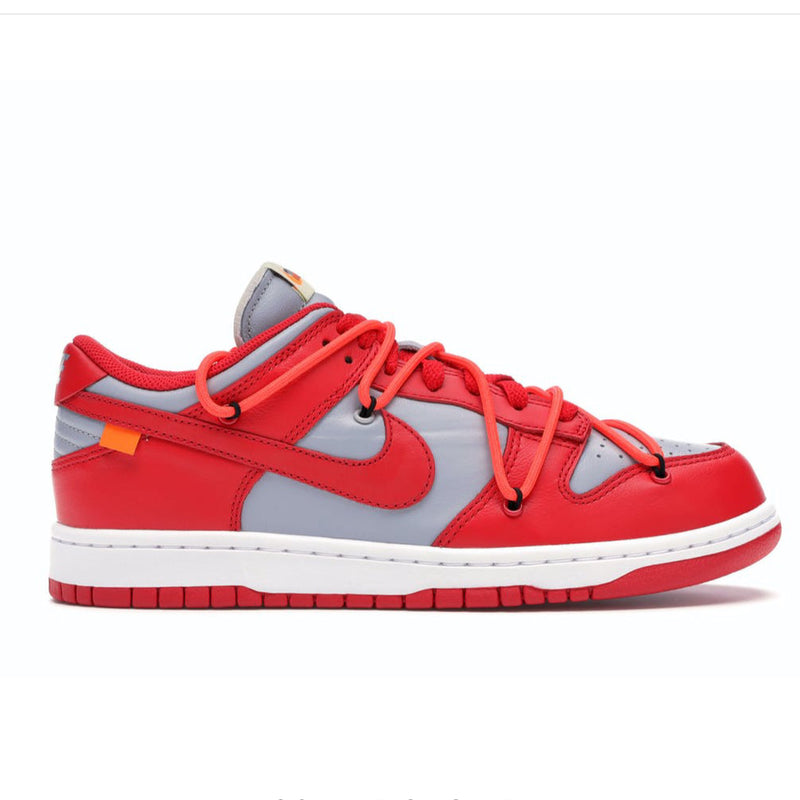 AIR JORDAN 1 LOW OFF WHITE UNIVERSITY RED