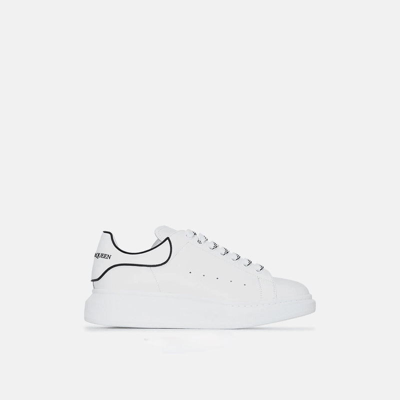 ALEXANDER MCQUEEN WHITE BLACK ALTERNATIVE