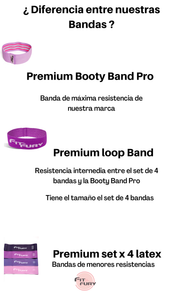 Premium Loop Band (morada)  Resistencia Media/fuerte