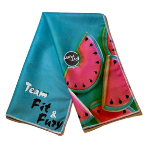 FIT&FURY Watermelon Fresh Towel ( sandías )