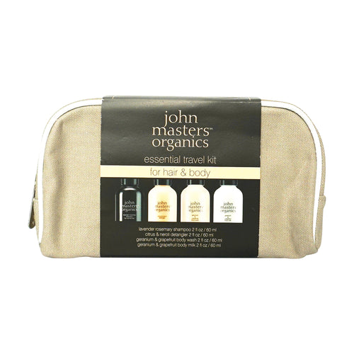 John Masters Organics Essential Travel Kit For Hair And Body - Scandea O2O