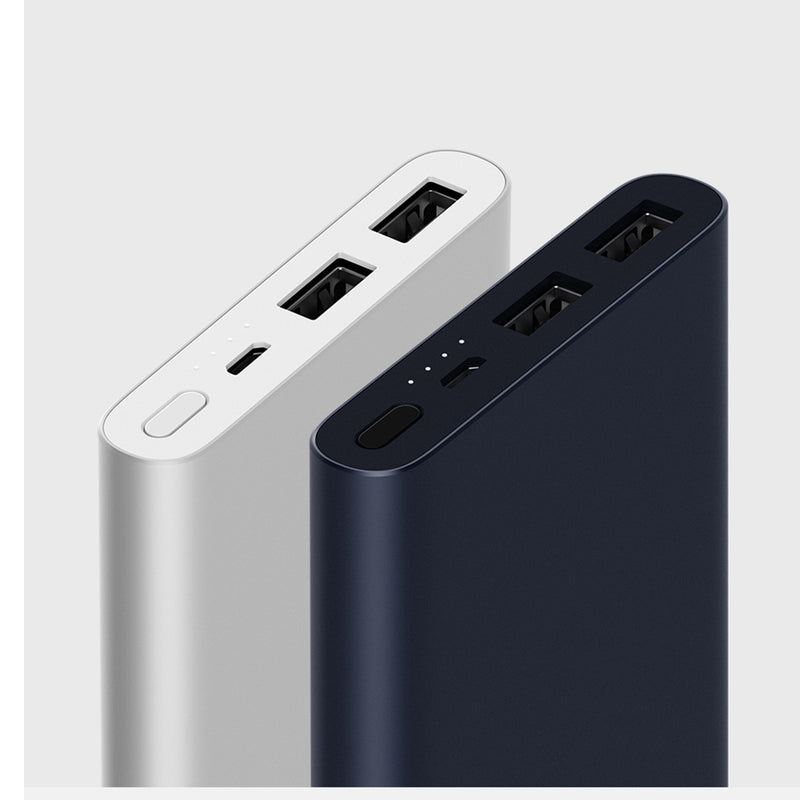 Xiaomi Mi Power Bank 2S 10000 mAh Sort