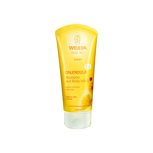 Weleda Calendula Shampoo & Body Wash 200 ml - Scandea O2O