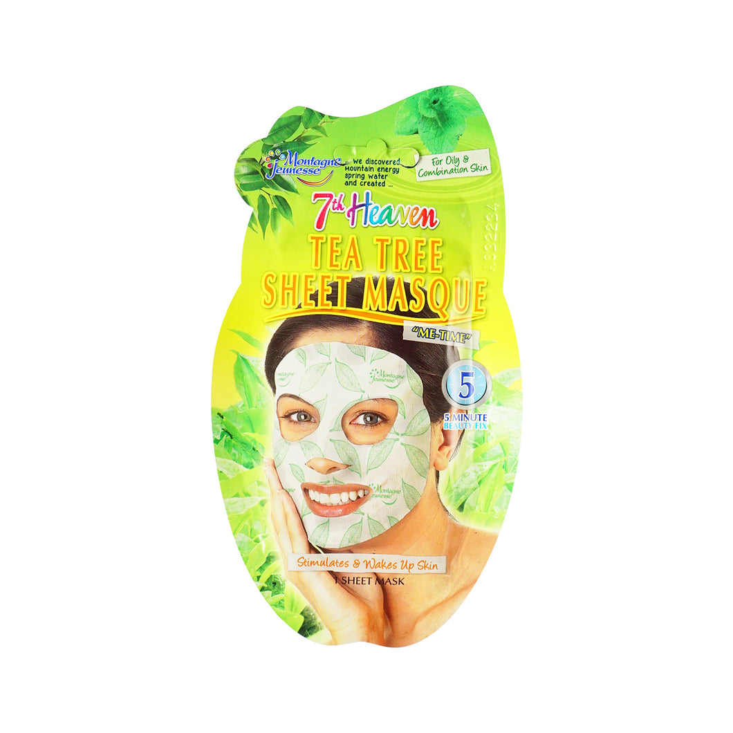 Montagne Jeunesse Tea tree Sheet Masque - Scandea O2O