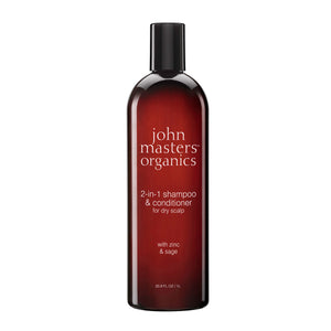 John Masters Organics Zinc & Sage shampoo with conditioner 236 ml