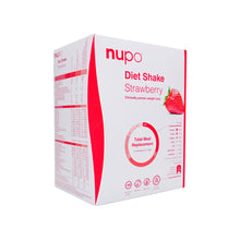 Indlæs billede til gallerivisning Nupo Diet Shake Strawberry 12pcs - Scandea O2O