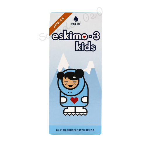 Eskimo-3 Kids Appelsin 210 ml - Scandea O2O
