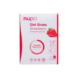 Nupo Diet Shake Strawberry 12pcs - Scandea O2O