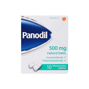 Panodil Tabletter 500 mg - Scandea O2O