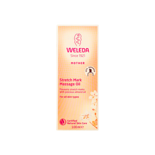 Weleda Stretch Mark Massage Oil 100 ml - Scandea O2O
