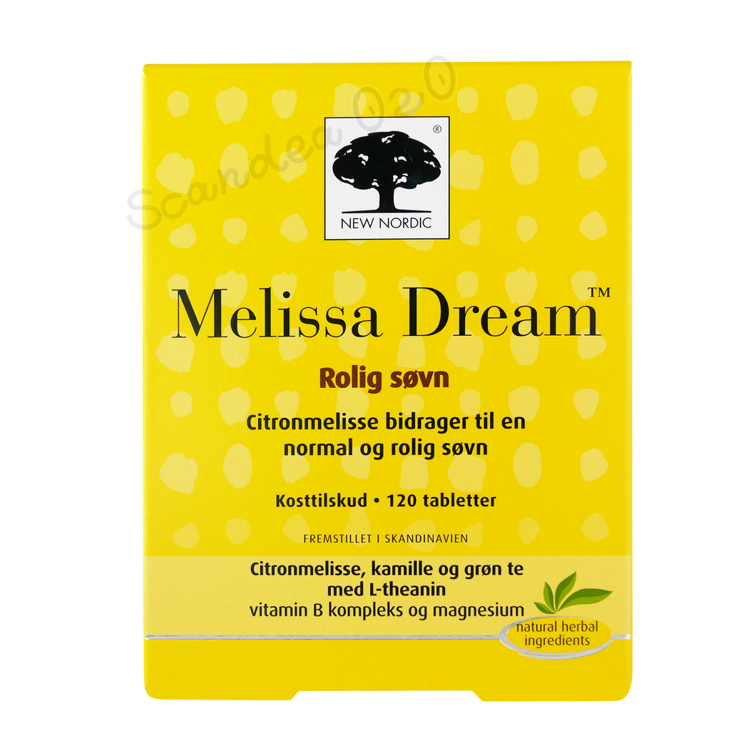 New Nordic Melissa Dream 120 tabl. - Scandea O2O