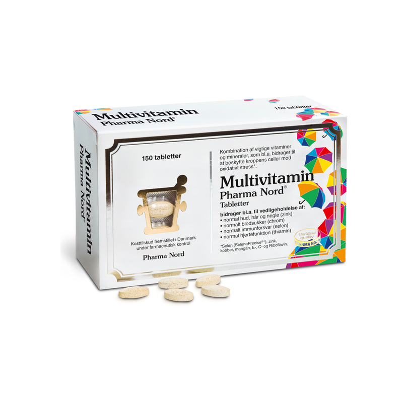 Pharma Nord Multivitamin 150 tabl. - Scandea O2O