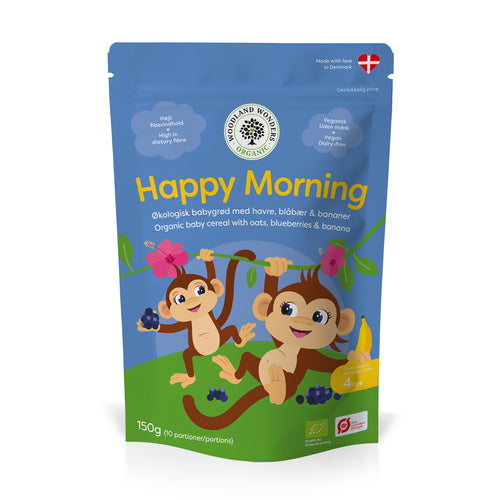 Happy Morning, økologisk babygrød 150 g