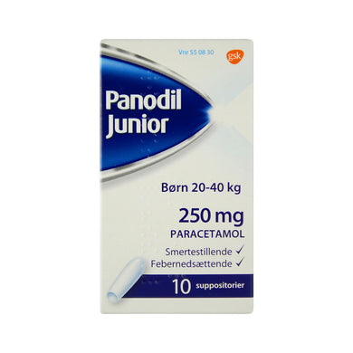Panodil Junior Suppositorier 250 mg - Scandea O2O