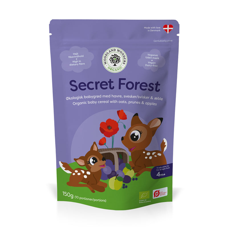 Secret Forest, økologisk babygrød 150 g