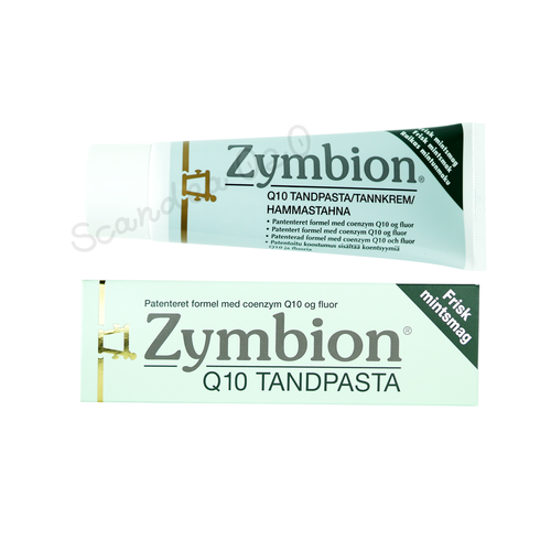 Pharma Nord Zymbion Q10 Tandpasta 75 ml - Scandea O2O