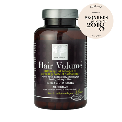 New Nordic Hair Volume 180 tabl. | Scandea.dk