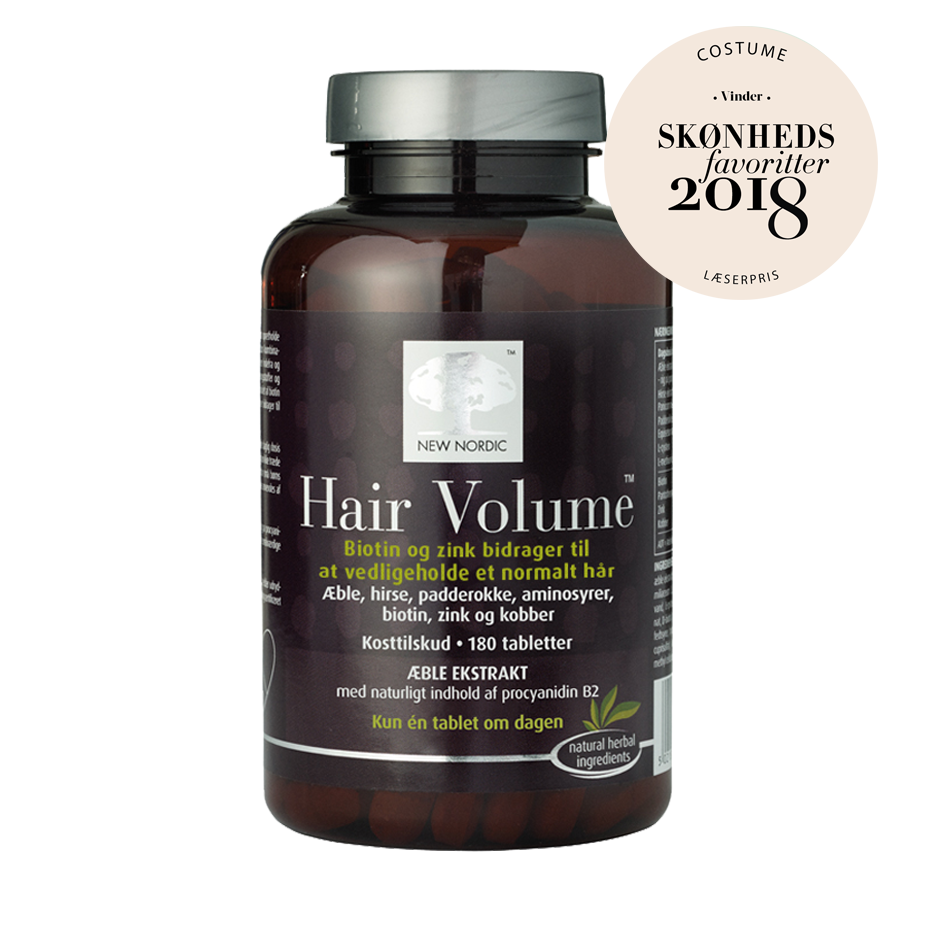 New Nordic Hair Volume 180 tabl. - Scandea O2O