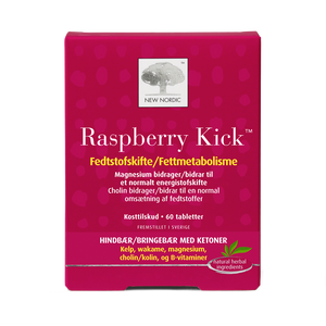 New Nordic Raspberry Kick 60 stk. - Scandea O2O
