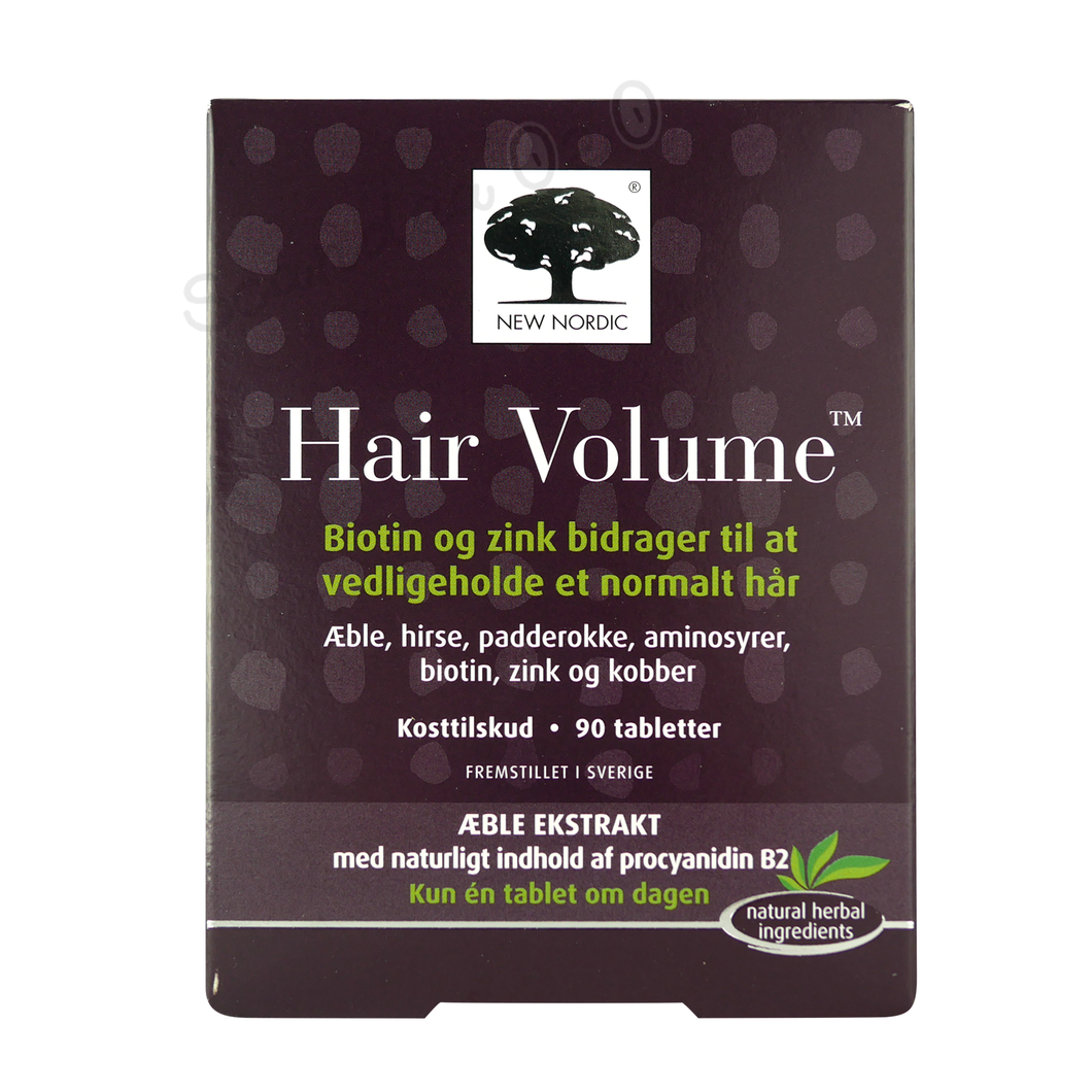 New Nordic Hair Volume 90 tabl. - Scandea O2O