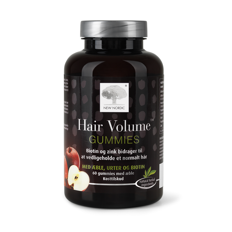 New Nordic Hair Volume Gummies 60 tabl | Scandea.dk