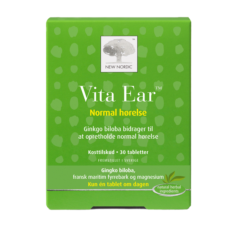New Nordic Vita Ear 30 tabl. - Scandea O2O