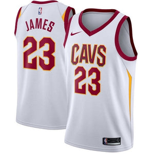 new product 2cffe 63784 Cleveland Cavaliers Nike Icon Swingman Jersey #23 LeBron James Fan Edition