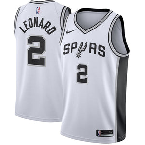 huge inventory a7b24 1456f Nike San Antonio Spurs #2 Kawhi Leonard Basketball Jersey Fan Edition