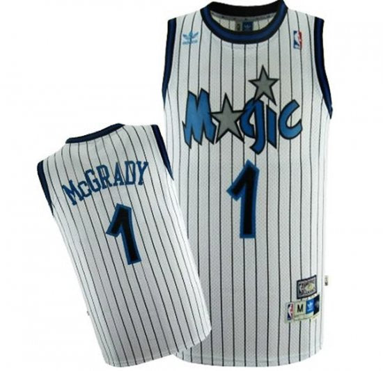 100% authentic 5d0d5 aaf3e Adidas Orlando Magic #1 Tracy McGrady Throwback Basketball Jersey