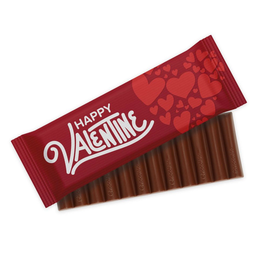 Valentines Chocolate Bar 12 Baton