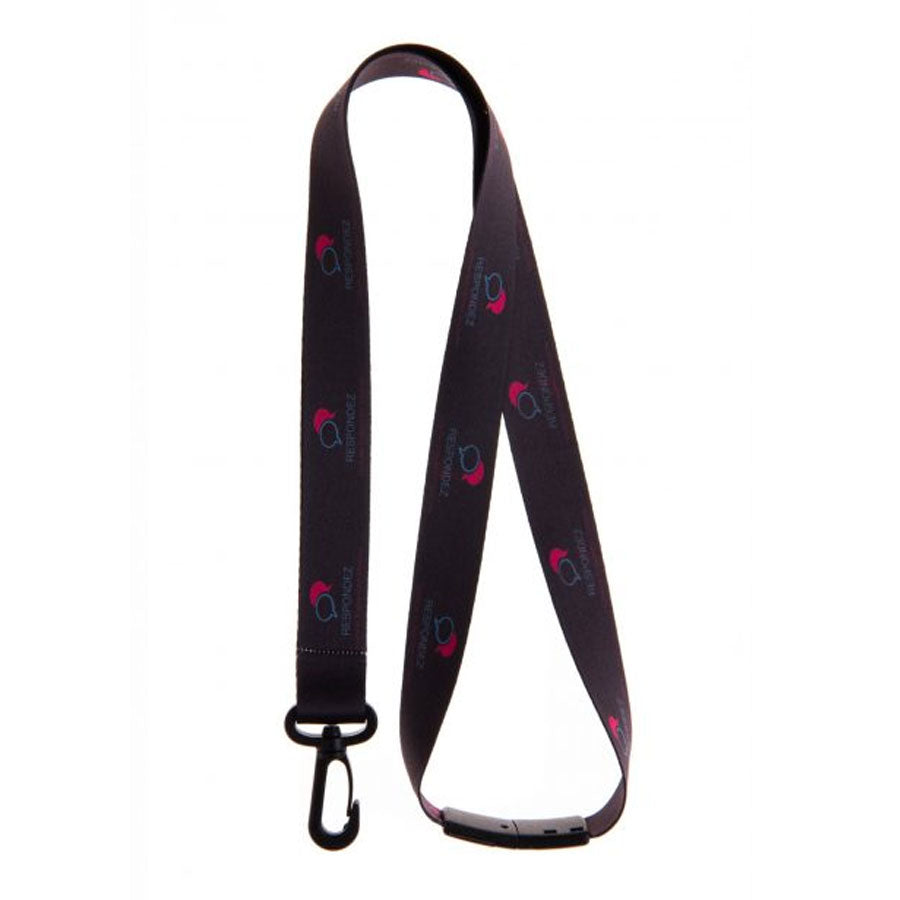 Lanyard with Plastic Dog Clip 20mm
