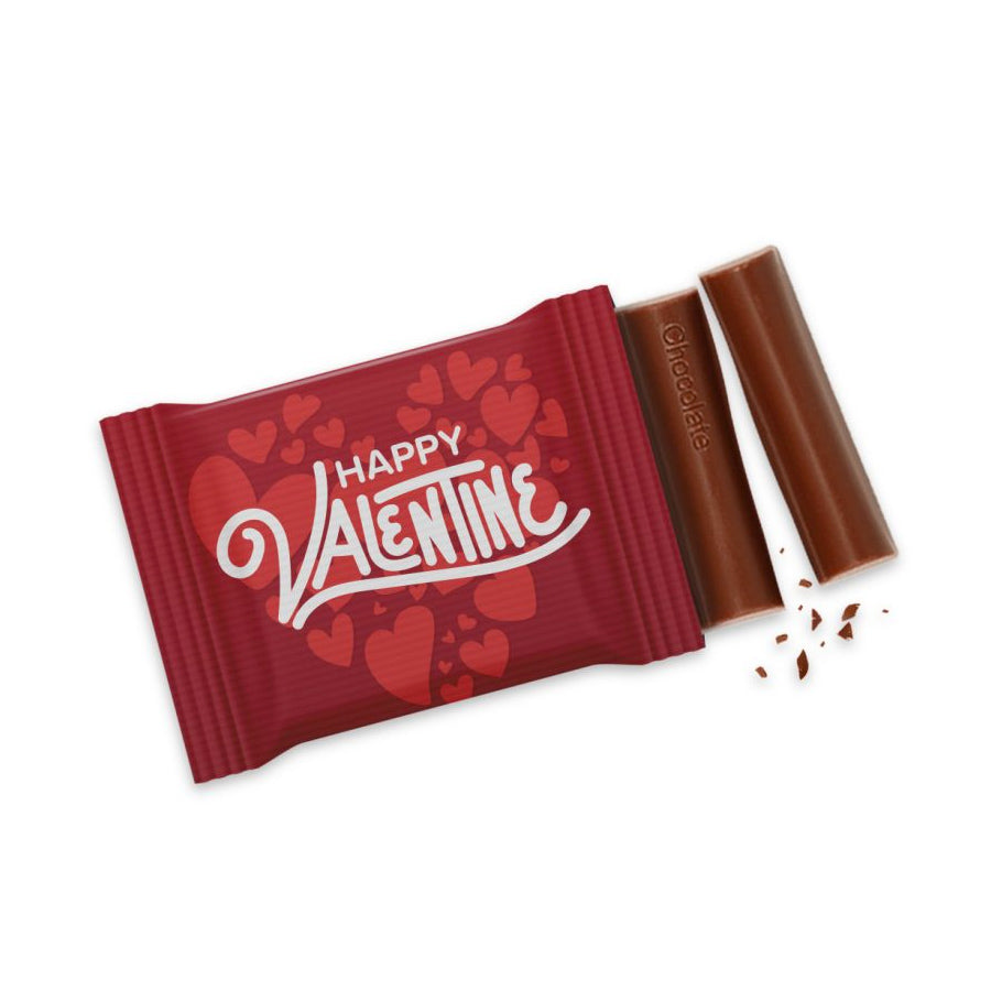 Valentines Chocolate Bar 3 Baton