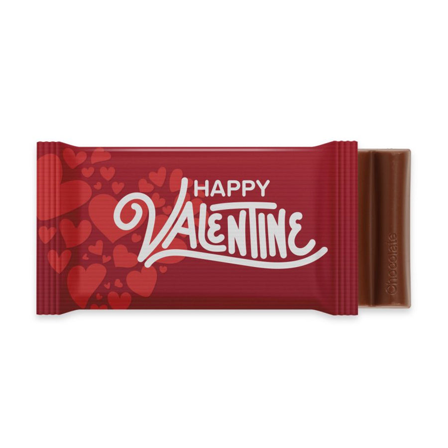 Valentines Chocolate Bar 6 Baton