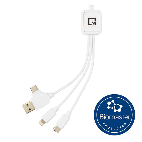 Antimicrobial 6-in-1 Charging Cable
