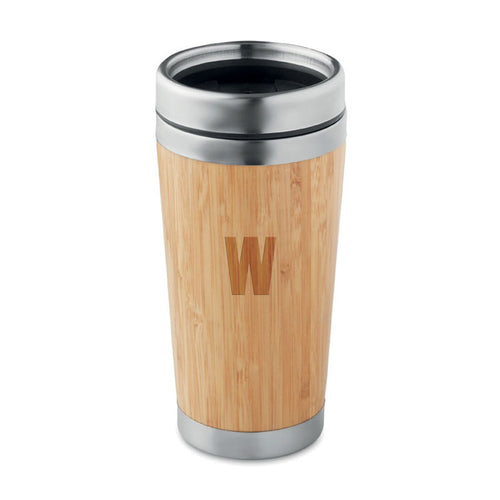 Bamboo Steel Travel Mug